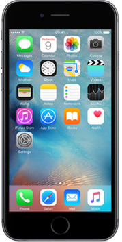 Apple iPhone 6s Space Grey voorkant