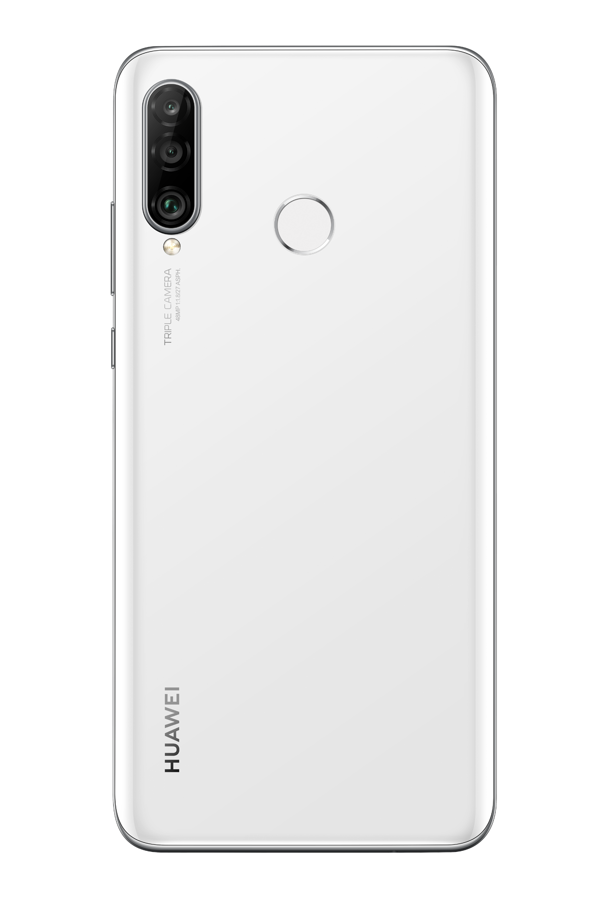 Huawei P30 Lite Wit achterkant