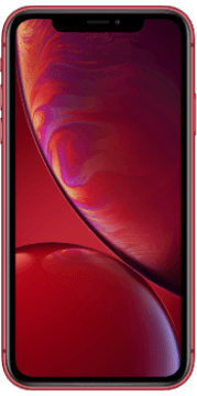 Apple iPhone Xr Rood Voorkant