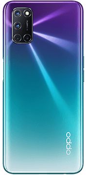 OPPO A72 Paars Achterkant