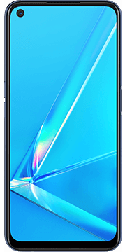OPPO A72 Paars Voorkant