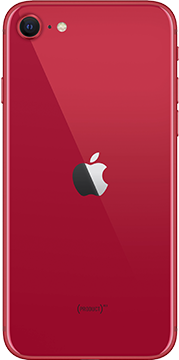 Apple iPhone SE 2020 Rood Achterkant